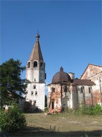 Вид монастыря.