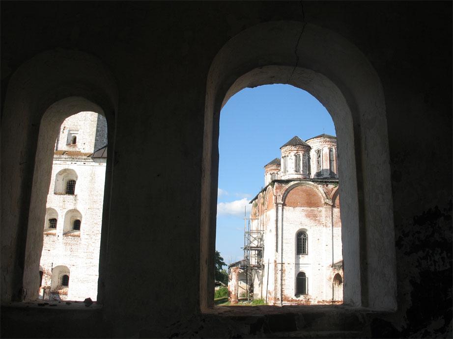 Из окна Голицинского корпуса