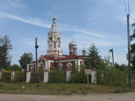 Ветлуга. Свято-Екатерининская церковь.