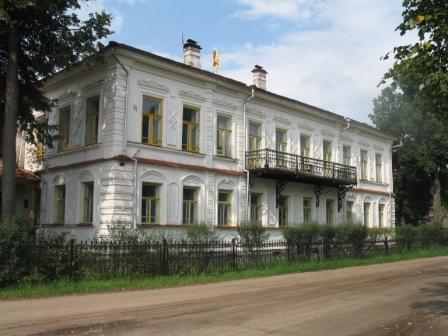 Кологрив. Здание нынешней администрации.