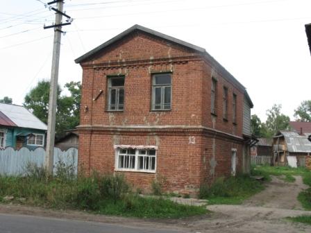 Кологрив. Дом где жила сестра моей бабушки.