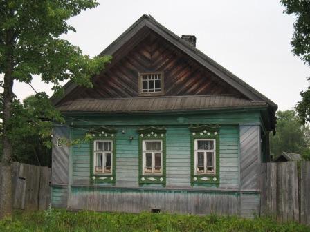 Кологрив.Предположительно дом моей бабушки.