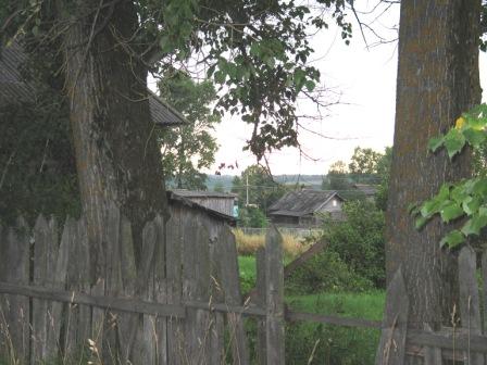 Кологрив. Вид на огород.
