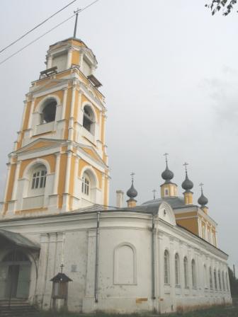 Кологрив. Церковь Успенья Пресвятой Богородицы.