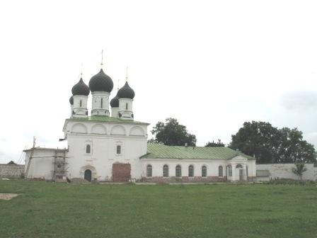 Макарьево-Унженский монастырь. Церковь Макария Преподобного.