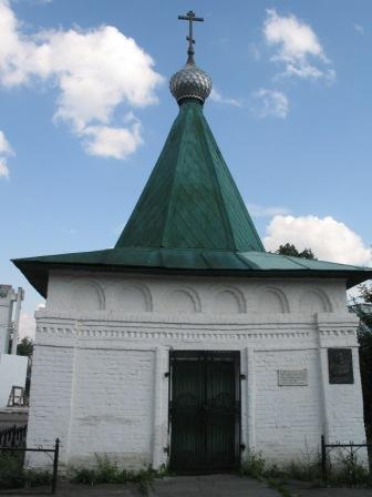 Кинешма. Часовня в память о погибших в ополчении 1609 года.