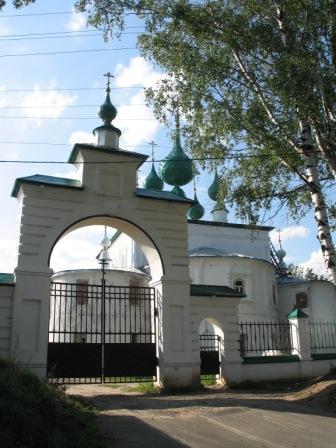 Кинешма. Церковь.