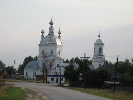 Церковь в селе Сицкое